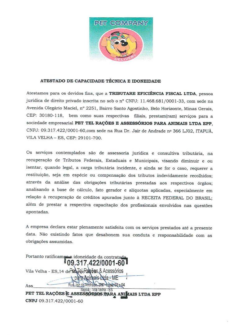 PET COMPANY - ATESTADO INSS-1