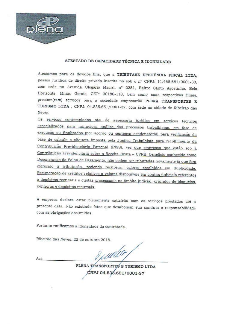 PLENA TRANSPORTE - ATESTADO INSS-1