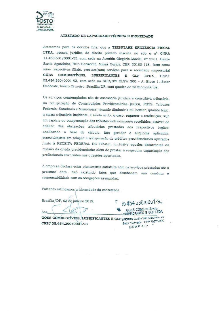 POSTO GOES - ATESTADO INSS-1