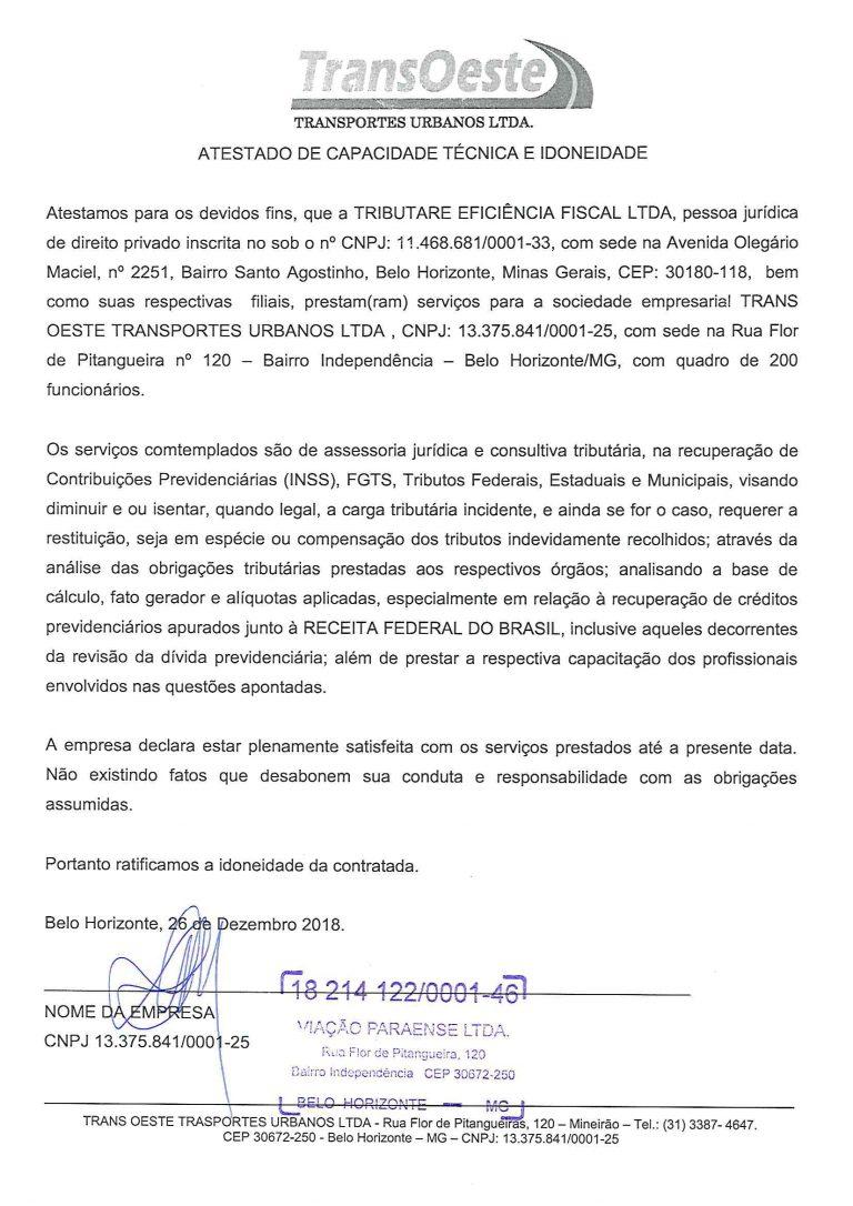 TRANSOESTE - ATESTADO INSS-1